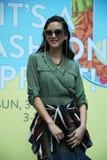 Its A Fashion Sprint Fashion Models Catwalk Royalty Free Stock Photos