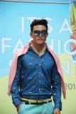 Its A Fashion Sprint Male Fashion Model Royalty Free Stock Photos