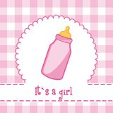 It�s a girl Royalty Free Stock Image
