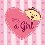 Its a girl Stock Images