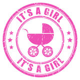 Its a girl Stock Photo