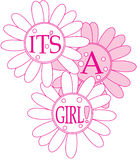 Its A Girl Royalty Free Stock Images
