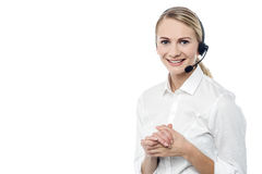 Its my pleasure to serve you ! Stock Images