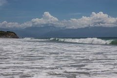 Beach Destiladeras Stock Photography