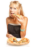 Its pizza time! Stock Photo
