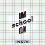 Its school time Stock Images