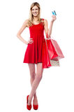 Its shopping time... Royalty Free Stock Photos