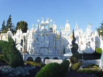 Its a small world ride. Its a small world after all ride at disneyland california Royalty Free Stock Photos