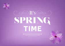 Its Spring Time Stock Image
