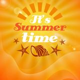 It�s Summer Time. Stock Image
