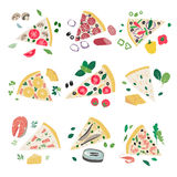 Its time for pizza Royalty Free Stock Images
