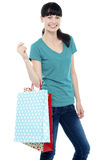 Its time to go shopping. Lets shop Royalty Free Stock Images