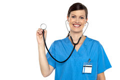 Its time for your regular annual check up Stock Photo