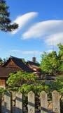 Itsukushima寺庙和塔在宫岛海岛上 免版税库存图片