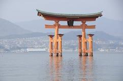 Itsukushima寺庙 免版税图库摄影