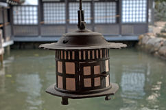 itsukushima日本宫岛寺庙 库存图片