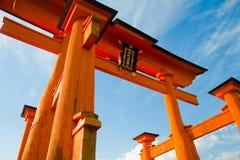 Itsukushima Świątynia Zdjęcie Royalty Free