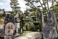 Itsukushima świątynia na Miyajima wyspie Obraz Royalty Free