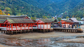 Itsukushima Jinja in miyajima Stock Images
