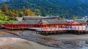 Itsukushima Jinja in miyajima Royalty Free Stock Images