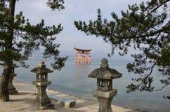Itsukushima Schrein Lizenzfreie Stockfotos