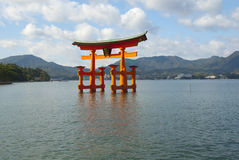 Itsukushima Shinto Shrine  Gate Royalty Free Stock Photography