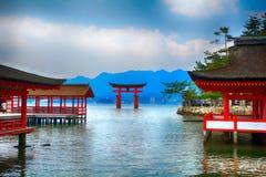 Itsukushima Shinto Shrine Stock Photos
