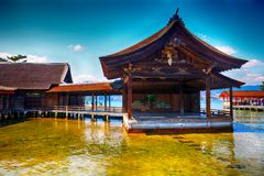 Itsukushima Shinto Shrine, Miyajima, Japan royalty free stock photos