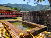Itsukushima Shinto Shrine Royalty Free Stock Photos