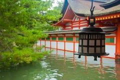 Itsukushima shintoistisch Stockfotografie