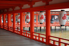 Itsukushima Shrine Royalty Free Stock Image