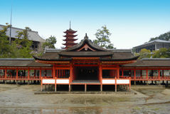 Itsukushima Shrine Royalty Free Stock Photos