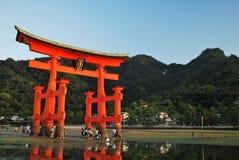 Itsukushima Shrine gate Stock Images