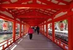 Itsukushima Shrine in Hiroshima, Japan Royalty Free Stock Image