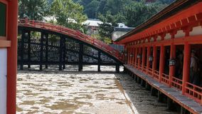 Itsukushima Shrine. Itsukushima Shrine in setonaikai ,japan. UNESCO world heritage sit Royalty Free Stock Images