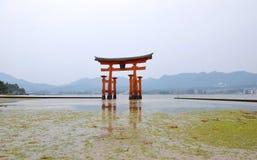 Itsukushima Shrine, Miyajima island, Japan Royalty Free Stock Image