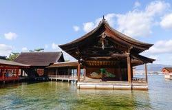 Itsukushima Shrine at Miyajima island, Japan Stock Image