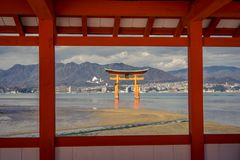 Itsukushima Shrine royalty free stock image