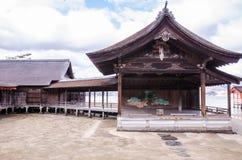 Itsukushima Shrine at Miyajima, Japan Royalty Free Stock Images