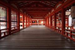 Itsukushima Shrine Stock Image