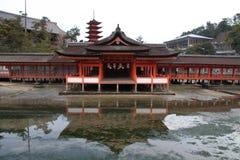 Itsukushima Shrine Royalty Free Stock Images