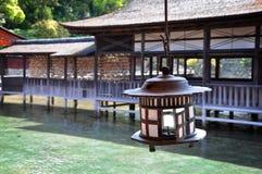 Itsukushima shrine. At Miyajima, Japan Stock Images
