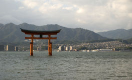 Itsukushima Shrine, Miyajima, Japan Royalty Free Stock Images