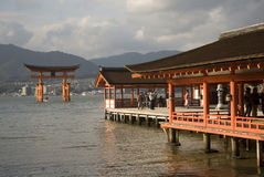 Itsukushima Shrine, Miyajima, Japan Stock Image