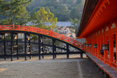 Itsukushima Shrine, Miyajima, Japan Stock Photography