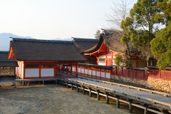 Itsukushima Shrine, Miyajima, Japan Stock Photo
