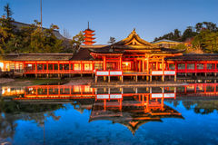 Itsukushima Shrine, Miyajima, Japan. Stock Photography