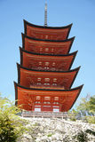 Itsukushima Shrine, Miyajima Royalty Free Stock Photo