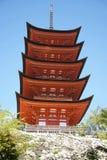 Itsukushima Shrine, Miyajima Royalty Free Stock Photo