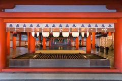 Itsukushima Shrine stock photography